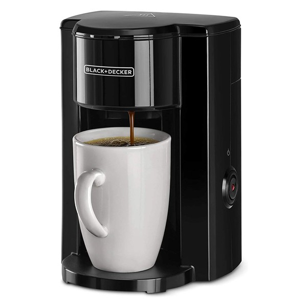 Black+Decker Coffee Lovers Combo Coffee Maker With Ceramic Mug And Coffee Grinder-6017