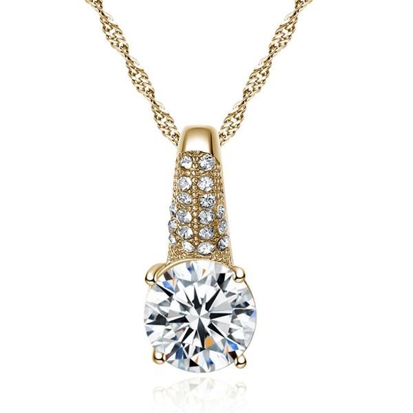 Signature Luxurious Fine Cut Zircon Jewellery Set ( golden) ZR003-4604