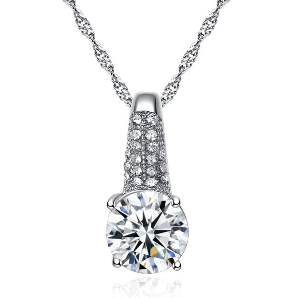 Signature Luxurious Fine Cut Zircon Jewellery Set (silver) ZR002-4602