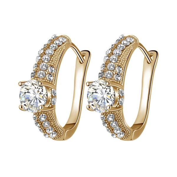 Signature Luxurious Fine Cut Zircon Jewellery Set ( golden) ZR003-4605