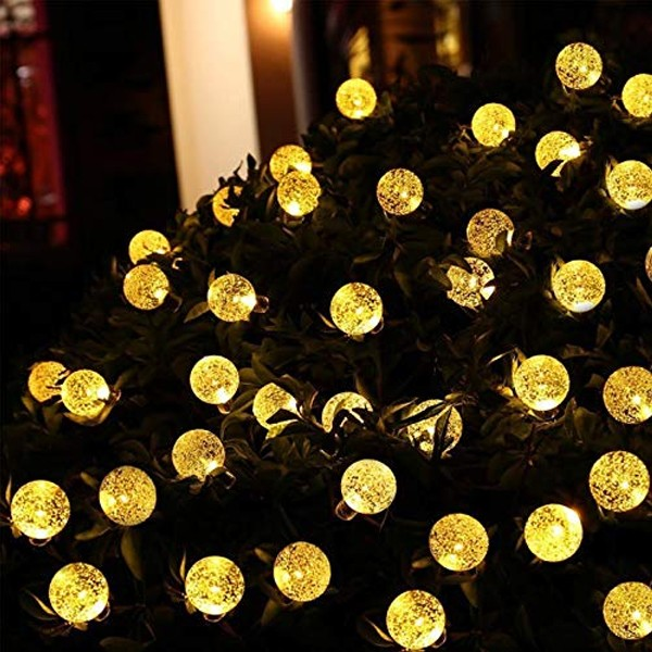 Top Selling Solar Magical Decorative Forest LED Lights 5 Meters-4997