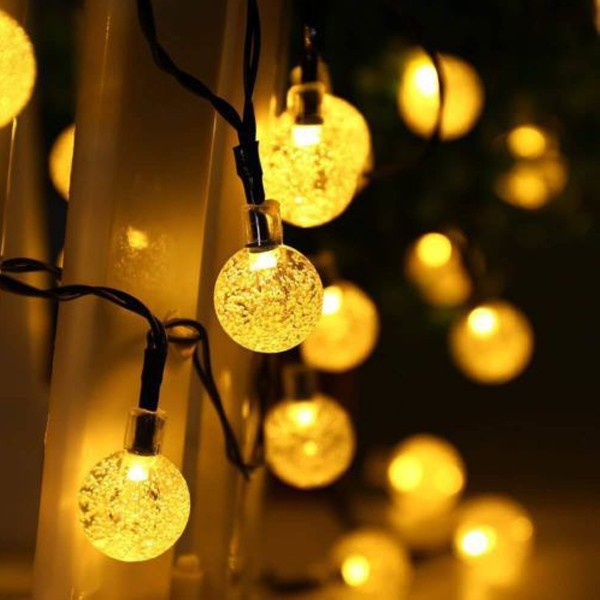 Top Selling Solar Magical Decorative Forest LED Lights 5 Meters-4998