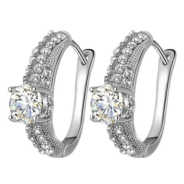 Signature Luxurious Fine Cut Zircon Jewellery Set (silver) ZR002-4600