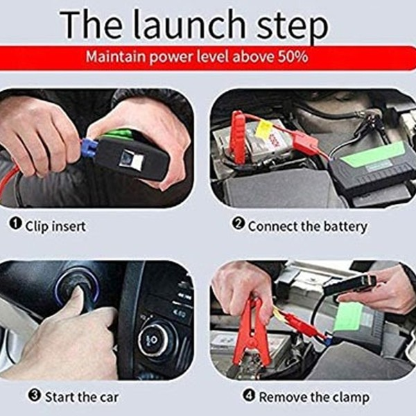 Portable Car Jumb Starter With Power Bank And Air Compressor-4875
