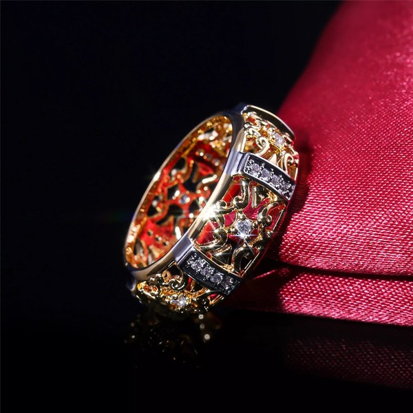 SIGNATURE COLLECTIONS SGR009 Dragons Girl Mystic Ring -4864