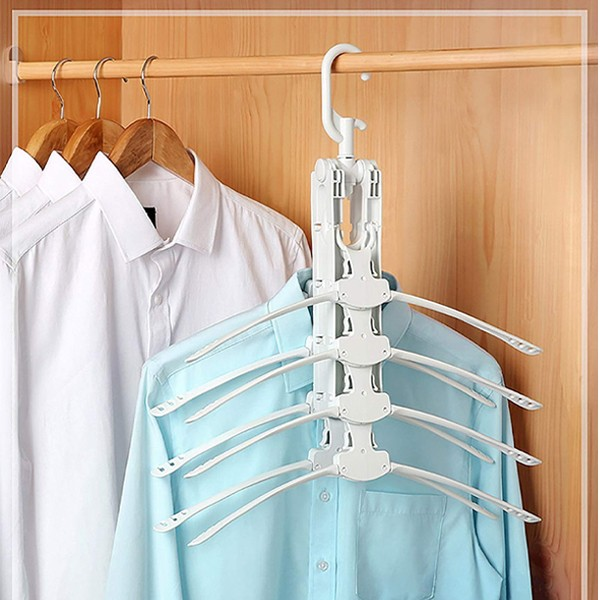 GO HOME Best selling 8 in 1 space saving clothes hanger-4798
