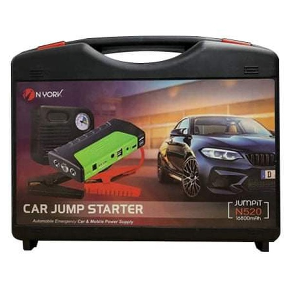 Portable Car Jumb Starter With Power Bank And Air Compressor-4870