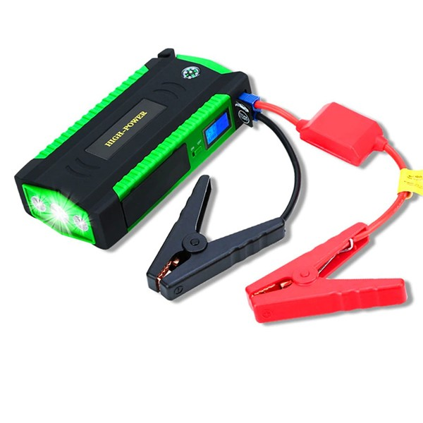Portable Car Jumb Starter With Power Bank And Air Compressor-4872