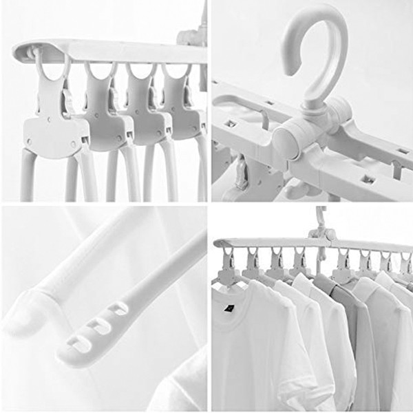 GO HOME Best selling 8 in 1 space saving clothes hanger-4797