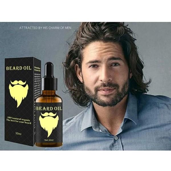 Organic & Natural Beard Styling Oil,2 Pcs-4940