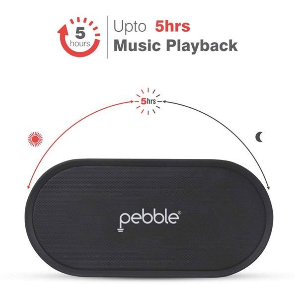 Pebble Heavy Bass Portable Bluetooth Speaker-109
