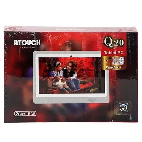 ATOUCH Q20 7 inch Kids Tablet 2GB Ram 16GB Storage WiFi, White-4480
