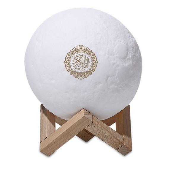 3D Moon Lamp Quran Speaker
