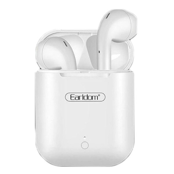 Earldom ET-BH29 Wireless Earbuds Touching Headset- White