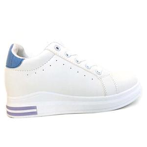 Casual Sneakers White and Blue -HV