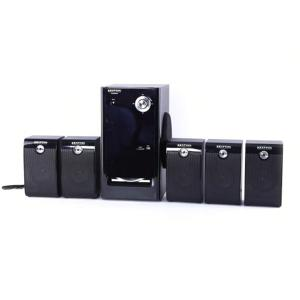 Krypton KNMS6098 5.1 Channel Multimedia Bluetooth Speaker, Black-HV