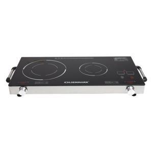 Olsenmark OMIC2280 Double Infrared Cooker, Black-HV