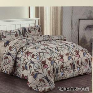 Roman King Size Comforter Set 4 pcs- 021-HV