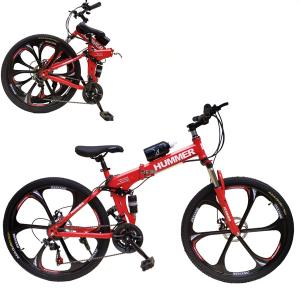 Aluminum Hummer 26 Inch Bicycle Red GM53-r-HV