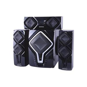 Krypton KNMS6099 3.1 Channel Multimedia Bluetooth Speaker, Black-HV