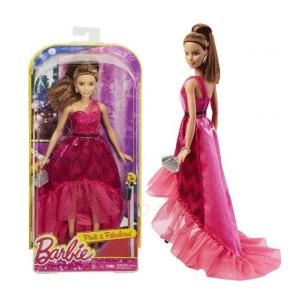 Barbie Pink & Fabulous Gown Doll- DGY69-HV