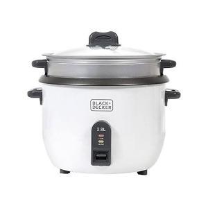 Black & Decker RC2850-B5 Non Stick Rice Cooker, 2.8L-HV