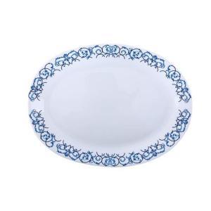 Royalford RF6104 Opal Ware Art Flower Dinner Plate, 14 Inch-HV