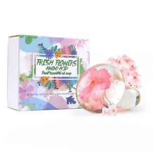 Amino Acid Essential Oil Flower Soap-HV