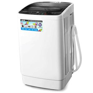 Geepas GFWM6800LCQ Fully Automatic Washing Machine, 6KG-HV