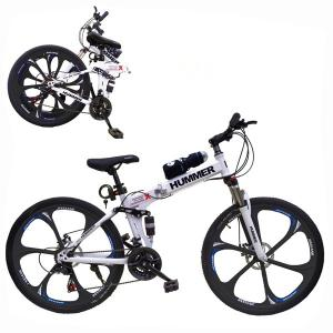 Aluminum Hummer 20 Inch Bicycle White GM50-w-HV