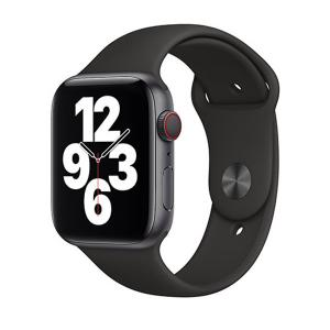 Apple Watch Strap 44mm Sport Band Regular, Black-HV