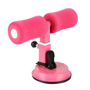 Suction Sit Up Exercise Bar Assister, Pink-HV