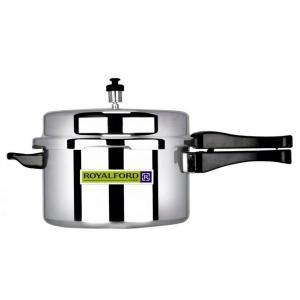 Royalford RF5802 Aluminium Pressure Cooker, 5L-HV