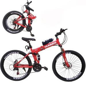 Wire Hummer 24 Inch Bicycle Red GM24-r-HV