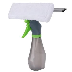 Home Care Go Cleaner 3 IN 1 Window Cleaner Squeezee,Microfiber Window Washer,Glass Cleaning Tool Wiper with Spray Bottle for Home Window, Car Window-HV