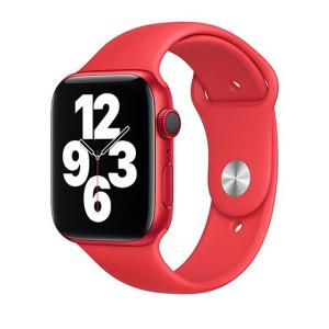 Apple Watch Strap 44mm Sport Band Regular, Red-HV