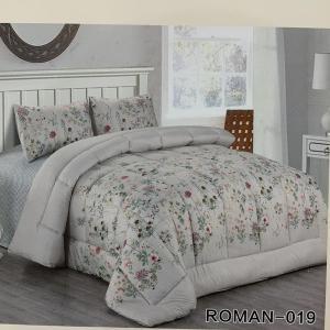 Roman King Size Comforter Set 4 pcs- 019-HV