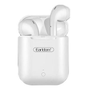Earldom ET-BH29 Wireless Earbuds Touching Headset- White-HV
