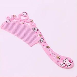 Hello Kitty Plastic Princess Comb Crown-HV