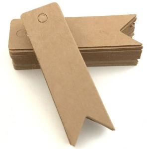 Small Label With Blank Bookmarks Garment Tags (100pcs/set)-HV