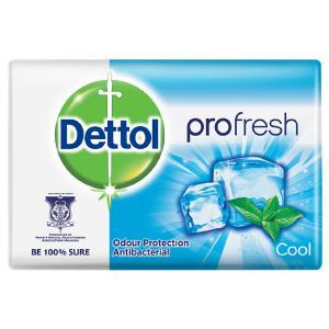 Dettol Profresh Cool Antibacterial Bar Soap, 170g-HV