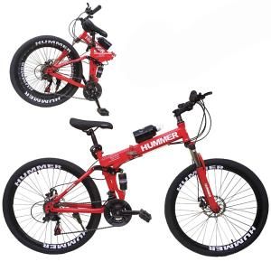 Wire Hummer 26 Inch Bicycle Red GM23-r-HV