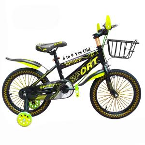 18 Inch Quick Sport Bicycle Yellow GM8-y-HV