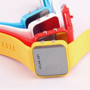 LED Watch Waterproof for Unisex, Assorted Color-HV
