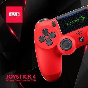 Heatz ZJ50 Joystick4 Gamepro Wireless Game Controller, Red-HV