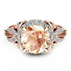 SIGNATURE COLLECTIONS SGR003 Romantic Confession Champagne Ring-HV