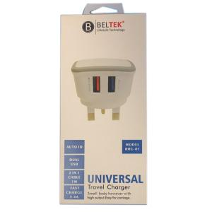 Beltek BHC-01 Universal Travel Charger-HV
