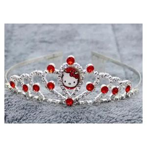 Cartoon Childrens Role Playing Hair Accessories Red Crown-HV