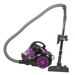Black & Decker VM1880-B5 Bagless Cyclonic Canister Vacuum Cleaner, 1800W -HV