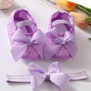 Cute Baby Shoes Hair Tie Set-HV
